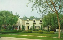 CARTE POSTALE ORIGINALE DE 9CM/14CM : HOLLYWOOD  THE HOME OF LUCILLE BALL LOCATED IN CHATSWORTH CALIFORNIA USA - Los Angeles