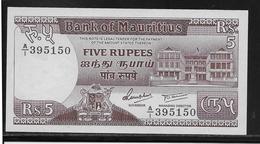 Maurice - 5 Rupees - Pick N°34 - NEUF - Mauritius