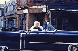 'Stars In Cars'  -   Marilyn Monroe  -  Cadillac Eldorado Convertible   -  15x10 PHOTO - Voitures De Tourisme