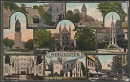 Multiview, Winchester, Hampshire, 1916 - Jay Em Jay Postcard - Winchester