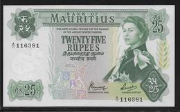 Maurice - 25 Rupees - Pick N°32 - NEUF - Mauritius