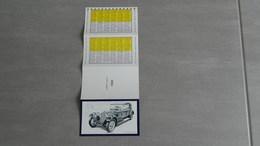 Calendrier 1988     Voiture   Alfa Romeo 8 C 1932 - Calendars