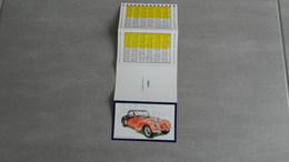 Calendrier 1988     Voiture   Bugatti 57 Coupe   Atalantie 1967 - Calendars