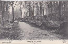 MILITARIA---54----la Guerre En Lorraine--le Village Nègre--( Guerre 1914-1918 )--voir 2 Scans - Guerra 1914-18