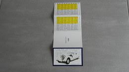 Calendrier 1988     Voiture    Mercedes - Benz  54 Ok Cabriolet 1938 - Calendars