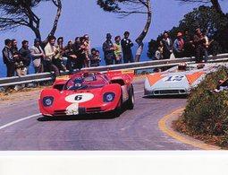 Targa Florio 1970  -  Ignazio Giunti (Ferrari 512S) - Jo Siffert (Porsche 908/3)   -  15x10 PHOTO - Le Mans