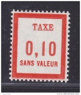 FRANCE FICTIF TAXE N° FT11 ** MNH Timbre Neuf Sans Charnière, TB - Phantomausgaben