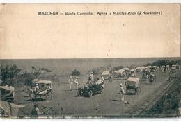 MAJUNGA   -    (  Madagascar  )  Route  Corniche  -  Après  La  Manifestation  Du  2  Novembre  - - Madagascar