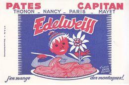 Buvard Pâtes Capitan Edelweiss Illustrateur André Roland - P