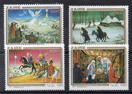 ZAIRE Timbres Neufs ** De 1980 ( Ref 4926 )  NOEL - Zaïre