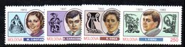 839 490 - MOLDAVIA MOLDOVA 1994,   Unificato N. 105/109  Nuovo *** - Moldavia