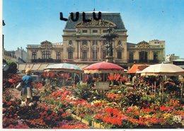 DEPT 50 : édit. Artaud Frères N° 586 : Cherbourg Le Marché Au Fleurs Sur La Place Du Château - Cherbourg