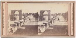 Sommer & Behles - Vedute Di Pompei, 3 Cartoline - Cartes Stéréoscopiques
