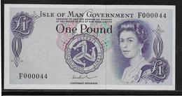 Ile De Man - 1 Pound - Pick N°29 - NEUF - RARE - Isle Of Man / Channel Island