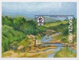 Swaziland 1991 National Heritage Sites (ss). MNH - Swaziland (1968-...)