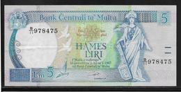 Malte - 5 Liri - Pick N°46 - SUP - Malta