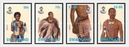Swaziland 1997 Traditional Costumes. MNH - Swaziland (1968-...)