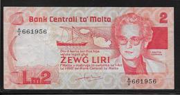 Malte - 2 Liri - Pick N°37 - SUP - Malta