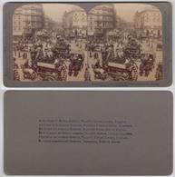 Underwood & Underwood - Street Of London, 2 Cartoline - Cartes Stéréoscopiques