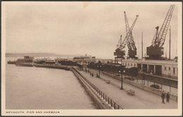 Pier And Harbour, Weymouth, Dorset, C.1930s - Birn Brothers Postcard - Weymouth