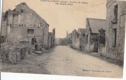 02- Cuisy En Almont  La Rue De L Eglise - France