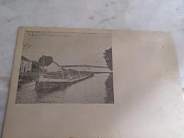 Vilvorde ,canal De Willebroek,prison Militaire Au Fond - Vilvoorde