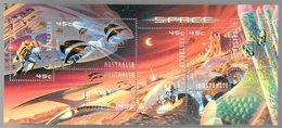 Australia 2000 Space - Sheets, Plate Blocks &  Multiples