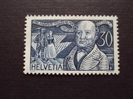 "1930- Timbre N° 249- ""Bitzius"" 30 Bleu- Neuf, Tb, Cote 4 Net 1.30 - Nuevos"
