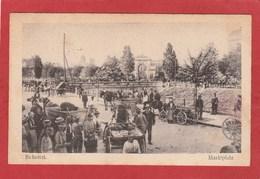 CPA: Roumanie - Bucarest - Bukarest - Marktplatz - Roumanie