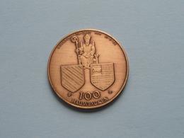 HEUSDEN - 1982 ( Bronskleur 35 Mm.- Details, Zie Foto ) - Fichas De Municipios