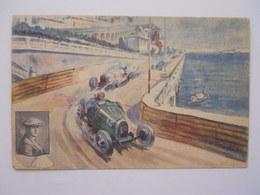 """Victoire De La Bougie Champion Grand Prix De Monaco 1929 """"Williams """" Sur Bugatti - Non Classés"""