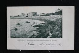 H-146 / Italie - Napoli (Naples) -  Bagnoli - Spiaggia Di Coroglio ( Dintorni Di Napoli) / Circule 1901 - Napoli (Naples)