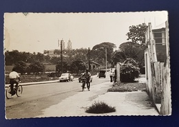 CAMEROUN - Douala Avenue Raymond Poincaré. Carte Animée - Cameroon