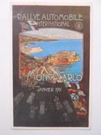 Rallye Automobile International Vers Monaco Janvier 1911,illust. Elio Ximenes - Non Classés