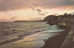 Sunset Over The Bay, Sidmouth, Devon, Engalnd, Posted To Australia With Stamps - Other
