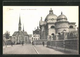 AK Düren, Museum Mit Marienkirche - Düren