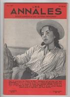 LES ANNALES 05 1957 - ELISABETH TAYLOR - BAUDELAIRE - EDOUARD HERRIOT - FEMME AVOCAT - SI GRANDS HOMMES MORTS A 20 ANS - Journaux - Quotidiens