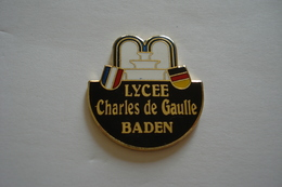 20180618-1815 LYCEE CHARLES DE GAULLE BADEN ALLEMAGNE HOSTELLERIE - Administrations
