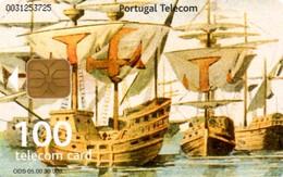 *PORTOGALLO - PEDRO ALVARES CABRAL* - Scheda A Chip Usata - Portugal