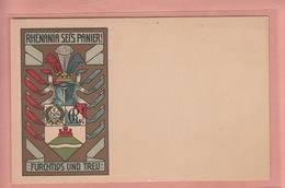 OLD  POSTCARD -    GERMANY - JENA - 1912 - ILLUSTRATED KARICH - GRAPHISCHE AUSSTELLUNG - Jena