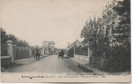 EPINAY SUR ORGE  RUE DE GRANDVAUX  ROUTE DE PARIS - Epinay-sur-Orge