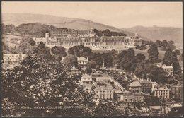 Royal Naval College, Dartmouth, Devon, 1925 - WG Pillar Postcard - England