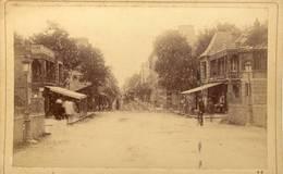 PHOTO ORIGINALE( 10.5X16)  VUE DE CABOURG SUR MER      (b Bur) - Fotos