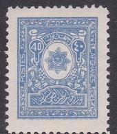 Afghanistan SG 195 1928 40p Blue MNH - Afghanistan