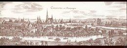 France - Chaalons En Champaigne - 29,5 X 10,5 Cm - Documentos Del Correo