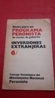 Argentina Bases Para Un Programa De Accion Peronista - Magazines & Newspapers