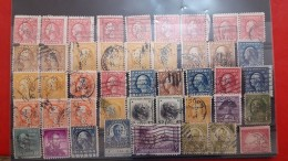 USA Batch Of Perforated Stamps - Perforados