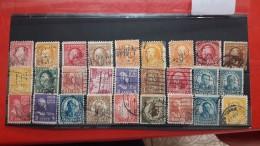 USA Batch Of Perforated Stamps - Zähnungen (Perfins)