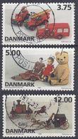 DANMARK - 1995 - Tre Valori Usati: Yvert 1115, 1116 E 1118, Come Da Immagine. - Dänemark