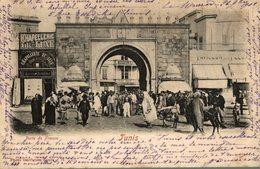 TUNISIE TUNIS PORTE DE FRANCE - Tunisie